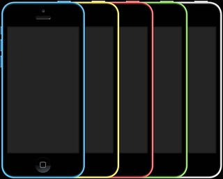 Apple iPhone 5C colours
