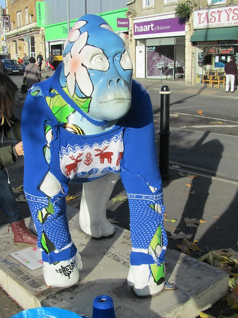 North Street Gorilla in a jumper