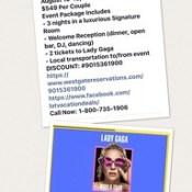Lady Gaga in Vegas - #ladygaga #lasvegas #westgateresorts #littlemonsters #vagas