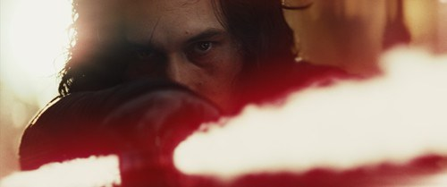 Star Wars: The Last Jedi..Kylo Ren (Adam Driver)..Photo: Film Frames Industrial Light & Magic/Lucasfilm..©2017 Lucasfilm Ltd. All Rights Reserved.