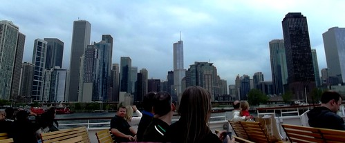 Chicago Skyline while on the architectural cruise
