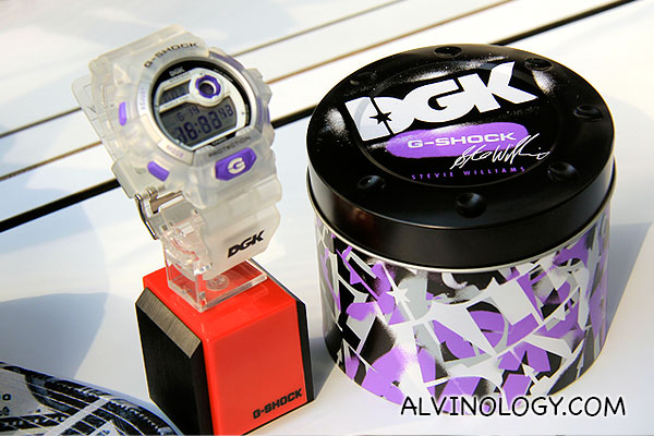 G-SHOCK + Stevie Williams