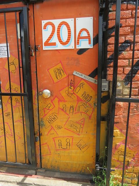 Shoreditch street art - Stik