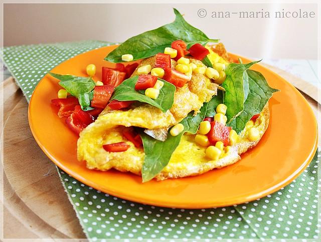 Omleta mexicana
