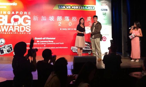 Singapore blog Awards - Ivan Kwan [Debby Ng]