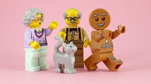 71002 LEGO Minifigures Series 11 06 Gingerbread Man BONUS