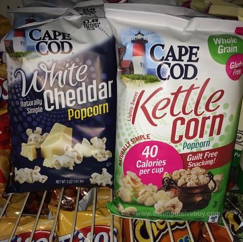 Cape Cod White Cheddar and Kettle Corn Popcorn