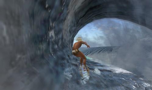 Bondi Beach: Inside the curl by Second Life Beach