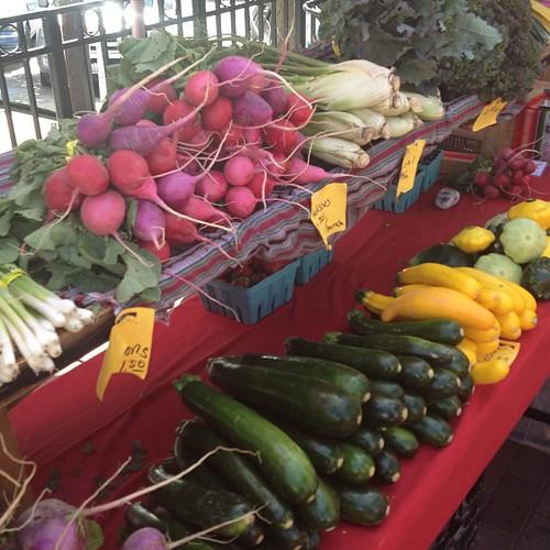 Fun at the Farmers Market by @MySoDotCom
