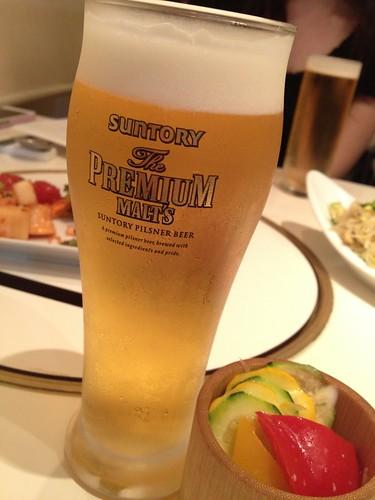 生ビール@TEJI TOKYO 渋谷店