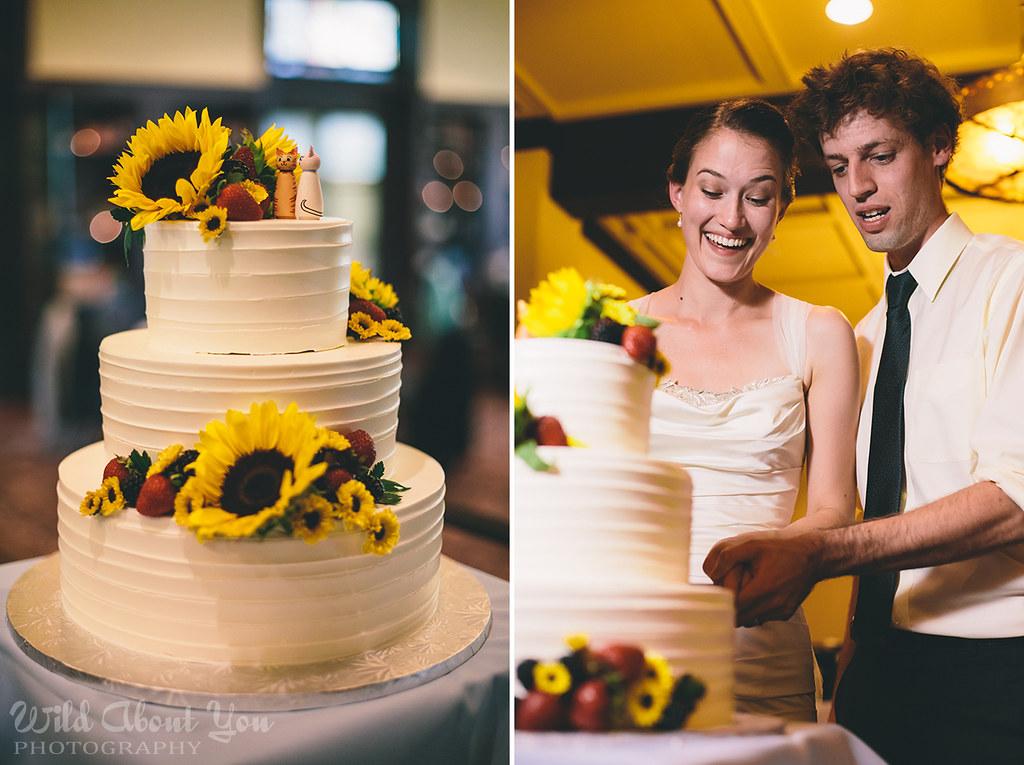 Jenny & Dries cake