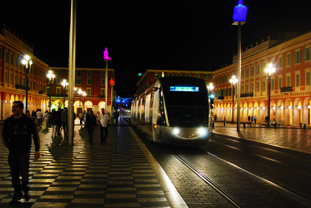 Nice_France_Train_Night_Photo