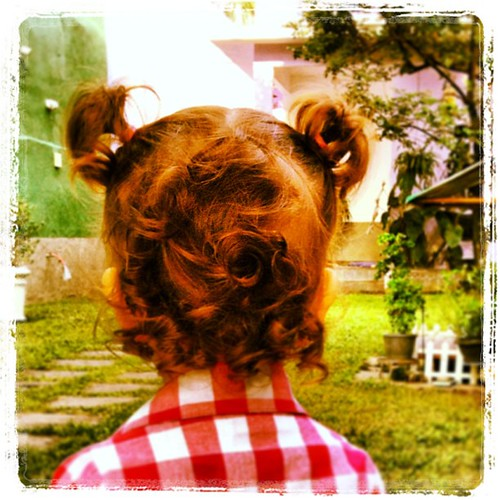 Penteado para a festa junina