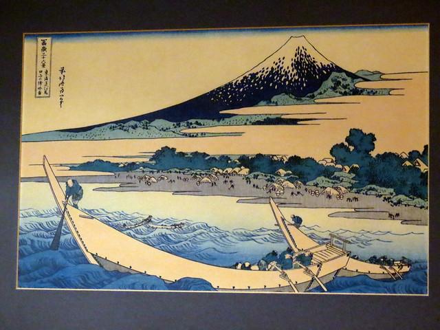Katsushika Hokusai - Tokaido Ejiri Tago-no-ura ryakuzu (東海道江尻田子の裏略ズ)