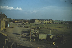 10th Photographic Reconnaissance Group at Fürth airfield in Germany.