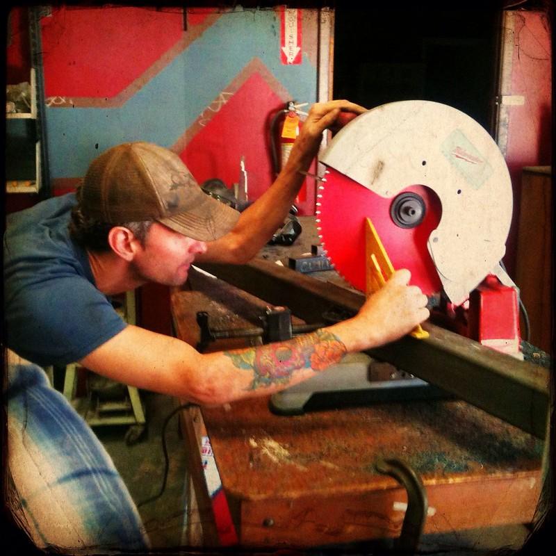 AVL DesignBuild Studs in the metal shop!