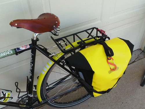 surly lht with ortlieb pannier