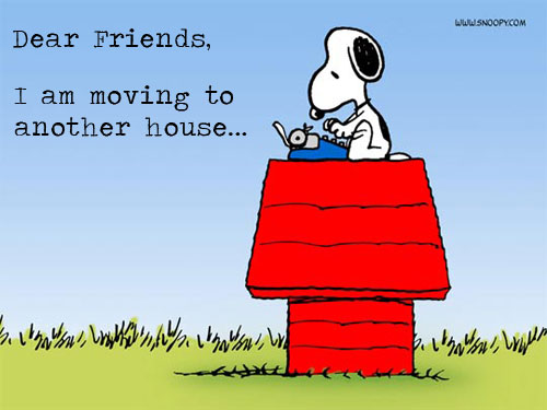 Snoopy moving on