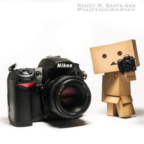 Danbo And I Use Nikon.