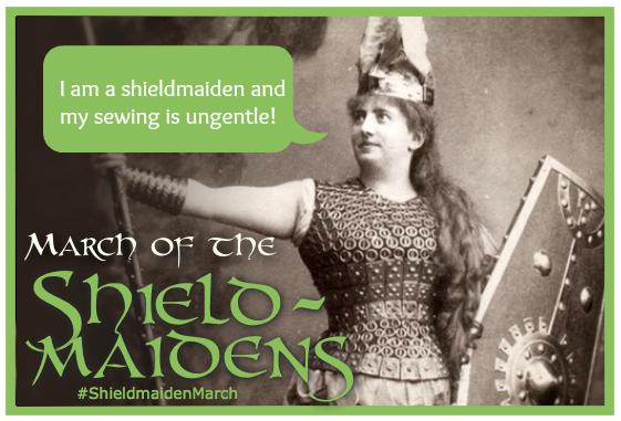 Shieldmaiden Ungentle