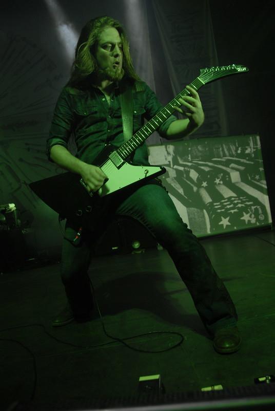 Ben Ash of Carcass
