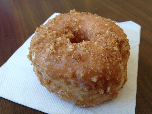 Apple cinnamon donut - Donut King