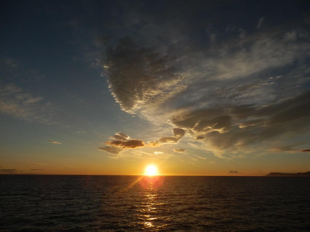 Sunset near Tromso