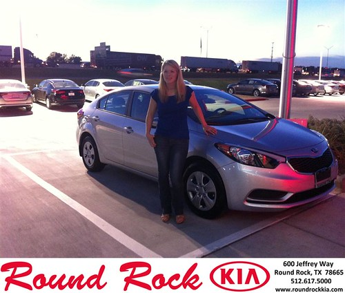 Thank you to Olivia Teall on the 2014 Kia Forte from Amir Mahboubi and everyone at Round Rock Kia! by RoundRockKia