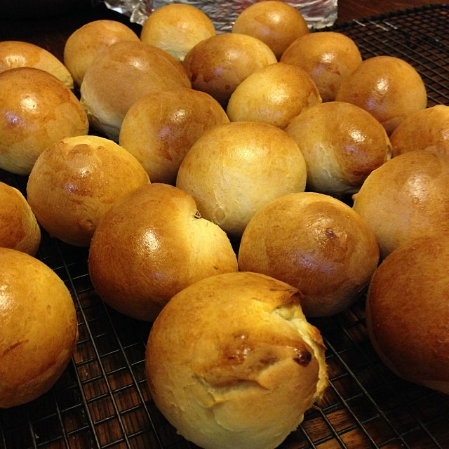 Hawaiian Honey Rolls for Thanksgivikah