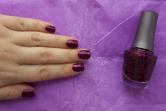 12 Morgan Taylor To Rule Or Not To Rule with topcoat