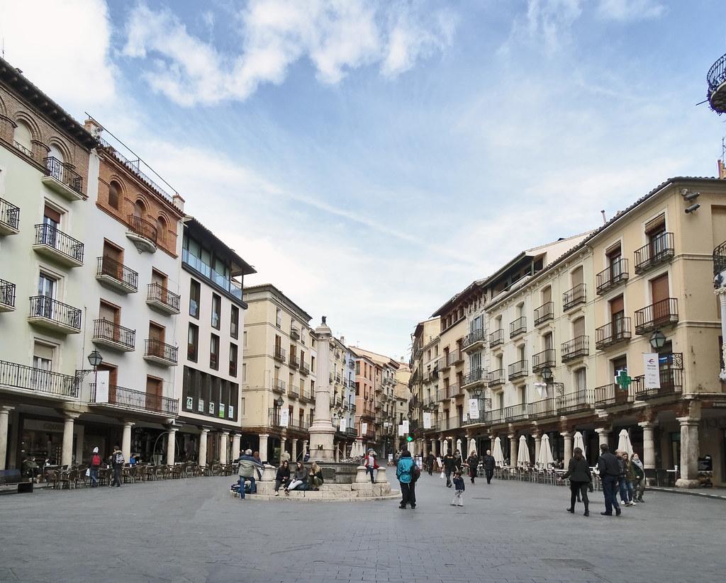 Teruel Fuente del Torico Plaza Carlos Castel 1750