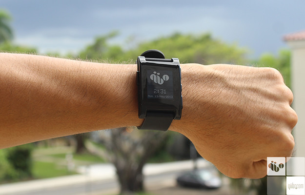 <h2>Review Pebble Smartwatch</h2>