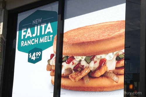 Jack in the Box Fajita Ranch Melt poster