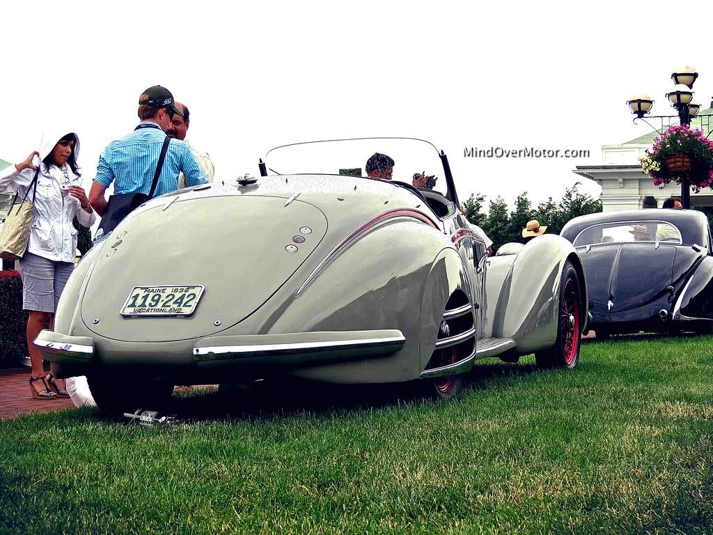 1938 Alfa Romeo 8C-2900B Spider