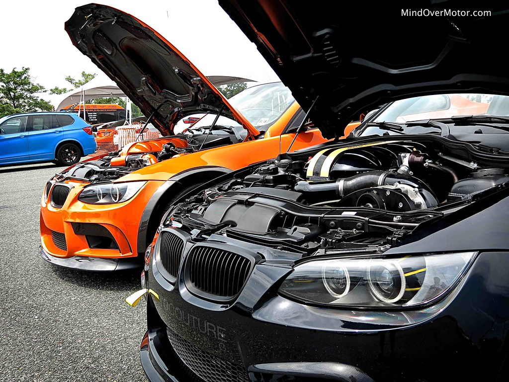 Supercharged BMW M3s