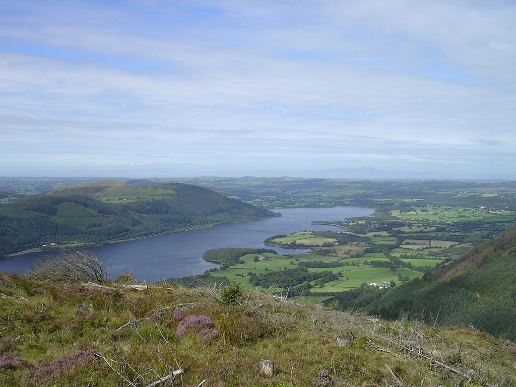 3. Bassenthwaite y Escocia en la cima del Dodd. Autor, Ed.ward