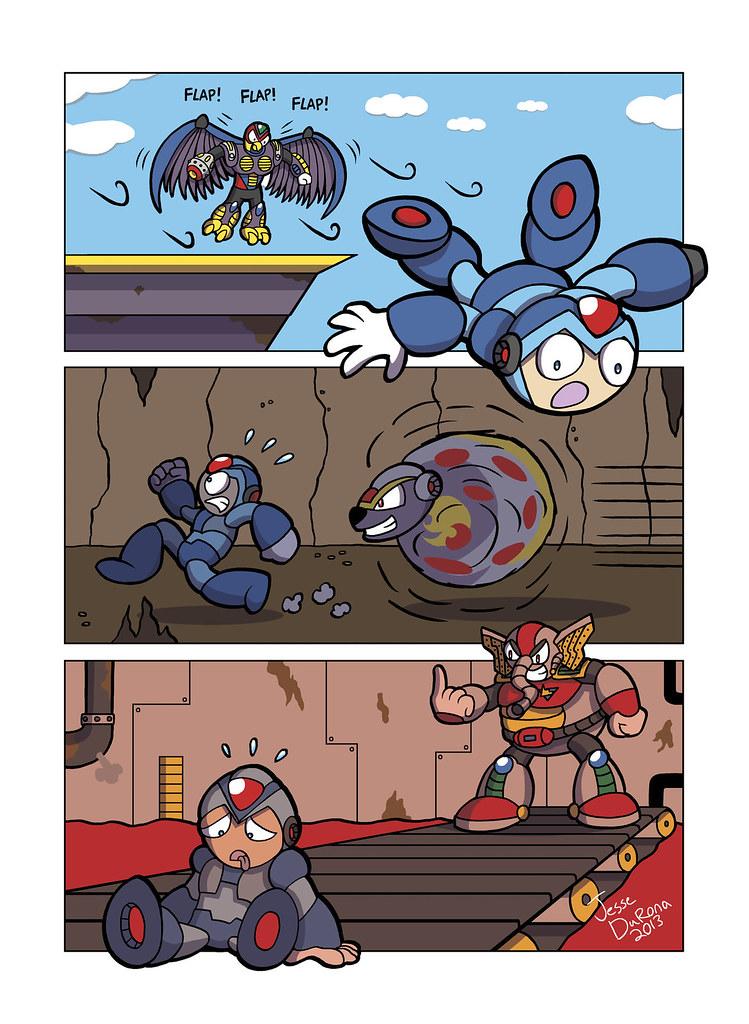 Mega Man X - That Moment When