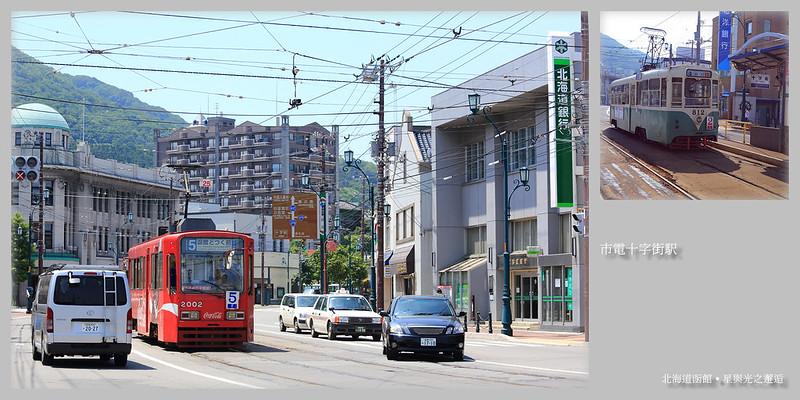 市電十字街車站postcard