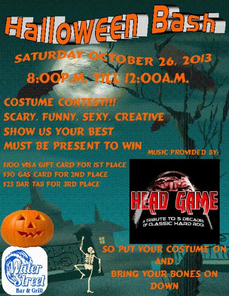 Head Game Halloween 10-26-13
