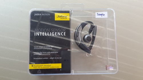 Packaging ของ Jabra Motion
