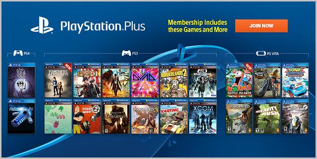 PlayStation Plus Update 1/21/14