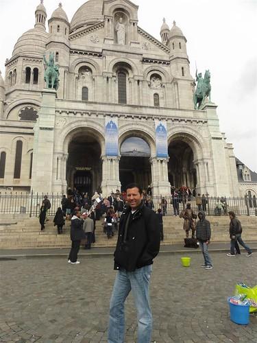 Wesley at Sacre Coeur