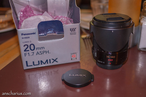 First Test shot with Panasonic GH3 & 1.7/20mm Pancake
