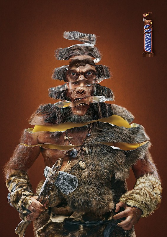 Snickers - Archeologist : Neandertal