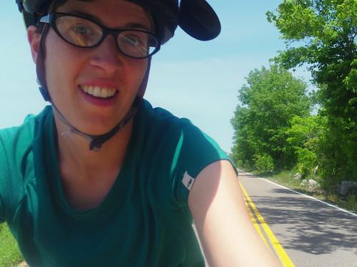 liz riding in TN