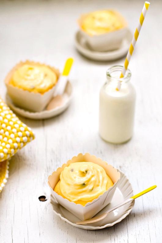 Passion Fruit Cupcakes Recipe