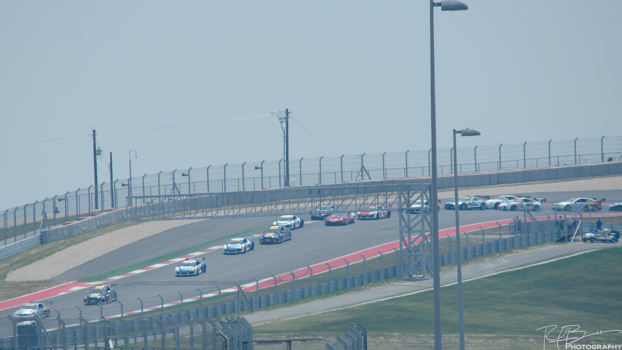 The field at Turn 1