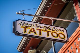 Always Heavenly Bound Tattoo