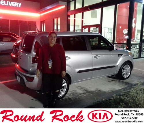 Thank you to Cyntia Ascencio on your new 2013 #Kia #Soul from Eric Armendariz and everyone at Round Rock Kia! #NewCar by RoundRockKia