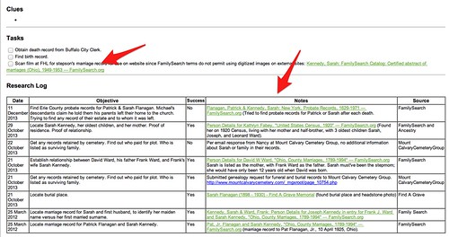 Evernote For Genealogy Research Logs And Note Links